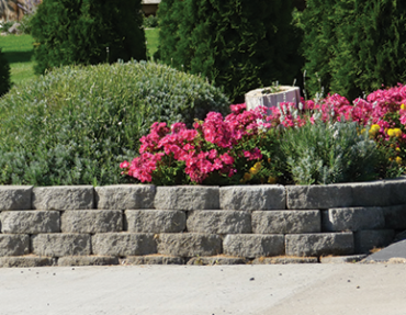 Western Materials Nursery Stone retaining wall block