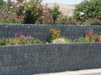 Western Materials Stonewall retaining wall block